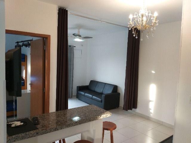 Apartamento mobiliado para temporada NOVINHO em Cuiabá bem localizado - Foto 2