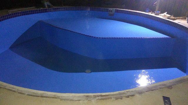 Construímos e reformamos sua piscina e colocamos aquecimento da sua piscina  - Foto 4
