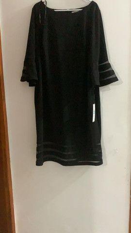 Vestido Plus size Calvin Klein Novo