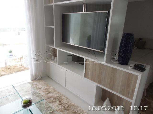Apartamento no Itaim Bibi 1 Suíte Luxo 54m², condomínio com ótima estrutura - Foto 9
