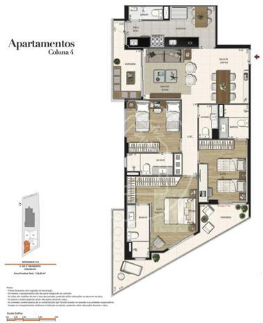 Apartamento à venda com 3 dormitórios em Jardim botânico, Rio de janeiro cod:886546 - Foto 4