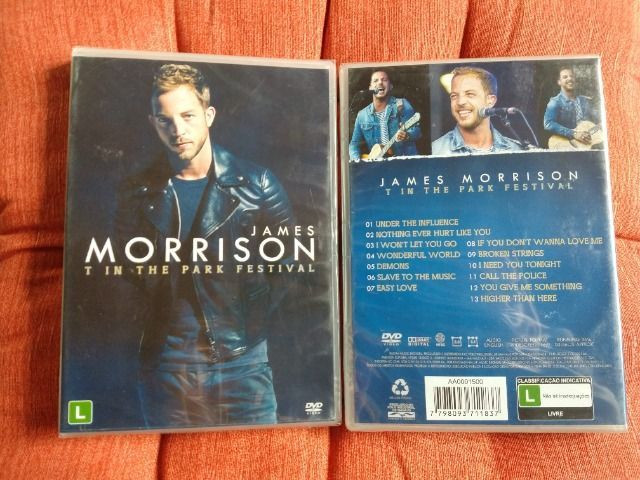 NOVO - DVD James Morrison - T In The Park Festival - Foto 2