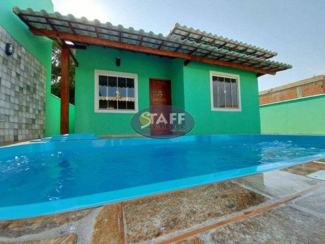K- Casas lindas com 2 quartos, sendo 1 suíte, no Gravatá em Unamar - Foto 16