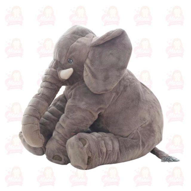 Almofadas para bebês elefante 60cm - Foto 3