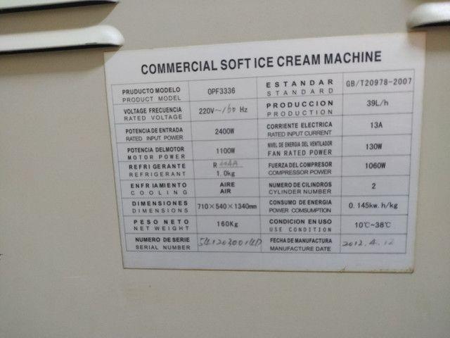 Máquina de sorvete soft - Foto 3