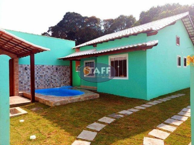 K- Casas lindas com 2 quartos, sendo 1 suíte, no Gravatá em Unamar - Foto 5