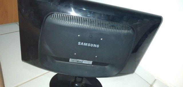 Monitor LCD Samsung com defeito  - Foto 3