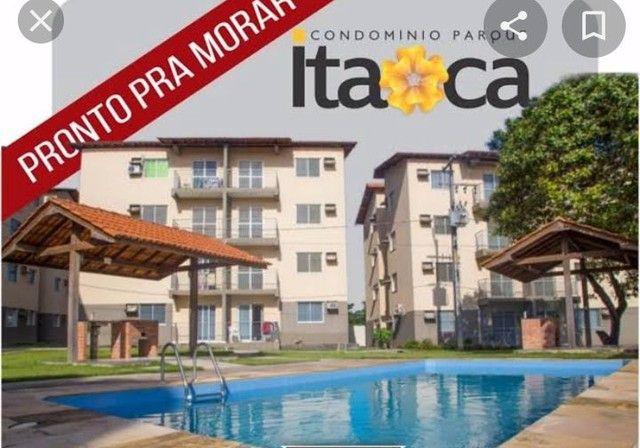 Cond. Parque Itaóca - vende ótimo apartamentos com sacada, 2/4 com e sem suíte. - Foto 3