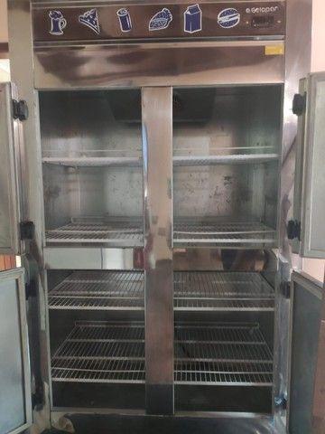 Refrigerador Gelopar 4 portas GREP-4P 220v - Foto 3