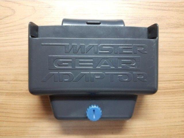 Master Gear. Adaptador de cartuchos do Master System para o Game Gear. Raro.