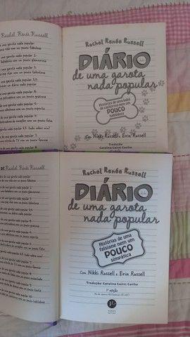 Coleção _ DIÁRIO DE UMA GAROTA NADA POPULAR_ 1 AO 11 - Foto 3