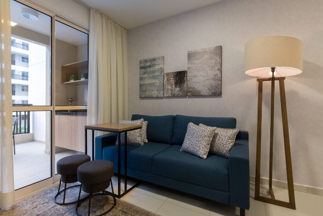 Apartamento de 01 Quarto com varanda - Foto 7