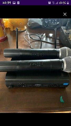 microfone sem fio - Foto 2