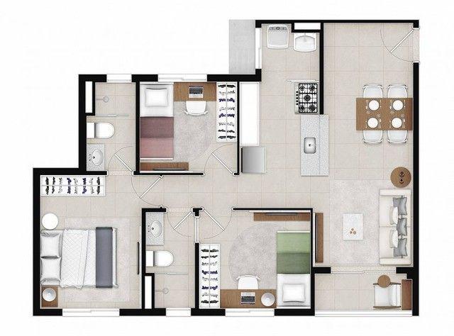 Apartamento para venda com 48 metros quadrados com 2 quartos - Foto 20