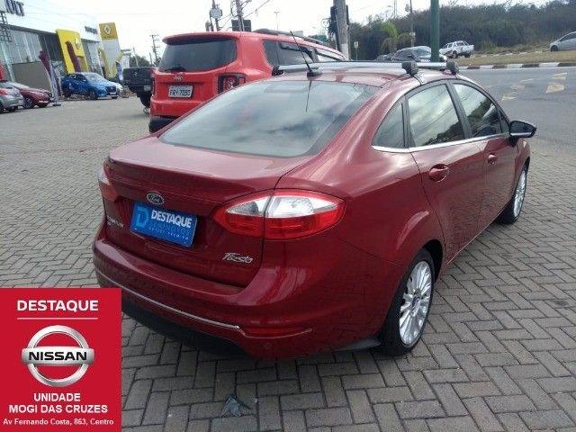 Fiesta Sedan Titanium Plus Automático 2017 - Foto 9