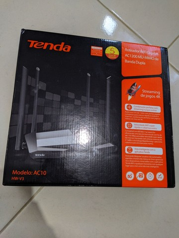Roteador Tenda AC10 1200 - Foto 2