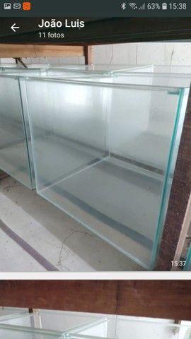 Aquário 50x50x45 vidro de 5mm -112 litros