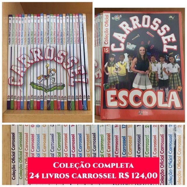 Livro Carrossel coleção
