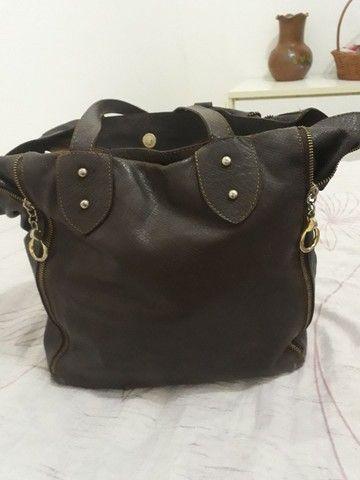 Bolsa em couro  - Foto 2
