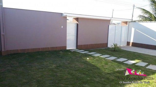 Linda Casa 3qts com Terrenão 480m - Foto 4