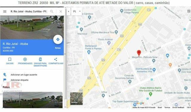 VENDO-TERRENO-MIL-METROS-QUADRADOS-RUA-RIO-JUTAI-BAIRRO-ALTO-CURITIBA - Foto 4