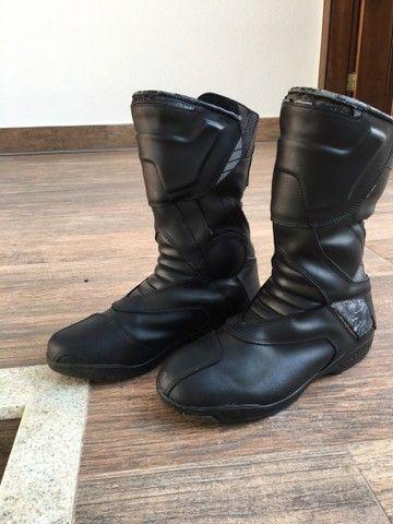 2 par de botas para moto