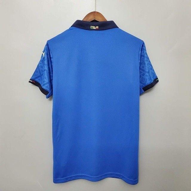 Camisa Itália I Home 2020/21    - Foto 2