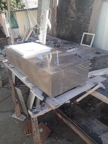 Vendo este lavatório novo em porcelanato Portobello  - Foto 5