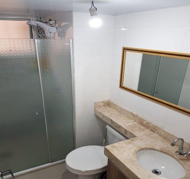 Apartamento com 3 quartos semi mobiliado_no_Fazendinha  - Foto 10