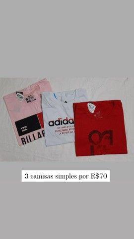 Camisas simples  - Foto 3