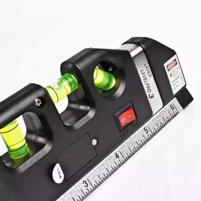 Nível a Laser Com Trena*Trena*Nível 3 estágio* - Foto 3