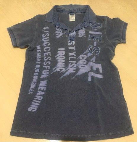 Camisas polo infantil Diesel e Hering  - Foto 2