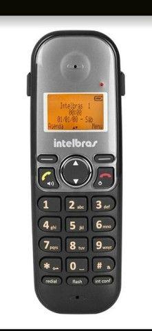 Telefone sem fio Intelbras TS 5123 INSTALADO - Foto 3