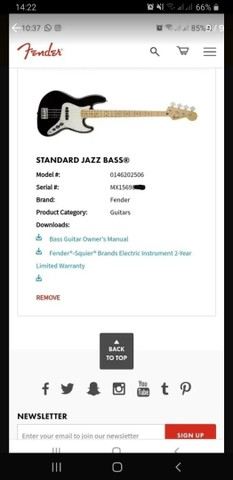 Baixo Fender Jazz Bass Standard - Estado De Novo - No Plástico - Foto 6