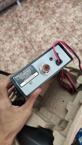 Rádio amador Cobra 19 Ultra III (3) + Antena top novos - Foto 2