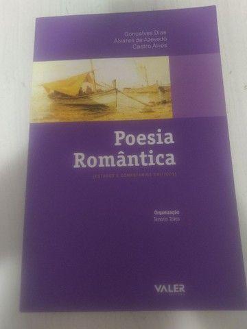 livro Poesia Romântica