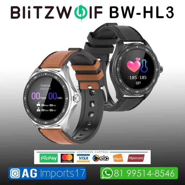 Blitzwolf BW-HL3 - Smartwatch Versão Global - Foto 4