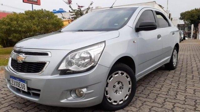 04 L - Chevrolet Cobalt LS 1.4 8V Flex 2012 Completo Top Espaçoso