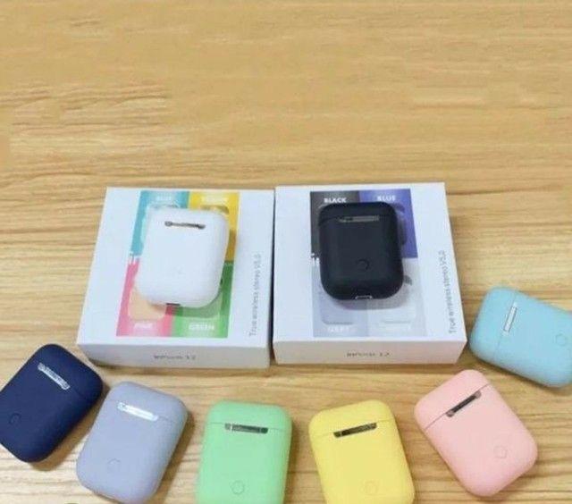 Inpods 12 Tws Macaron Fone De Ouvido Bluetooth 5.0 Sem Fio  - Foto 3