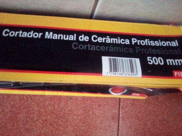 Cortador de cerâmica 500mm - Foto 3