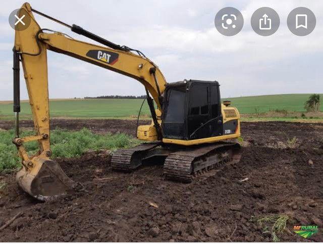 Escavadeira e mini escavadeira sócio