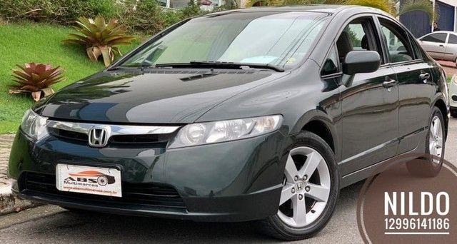 Civic LXS 1.8 2008 Zerado! Troco e financio! Chama no zap!