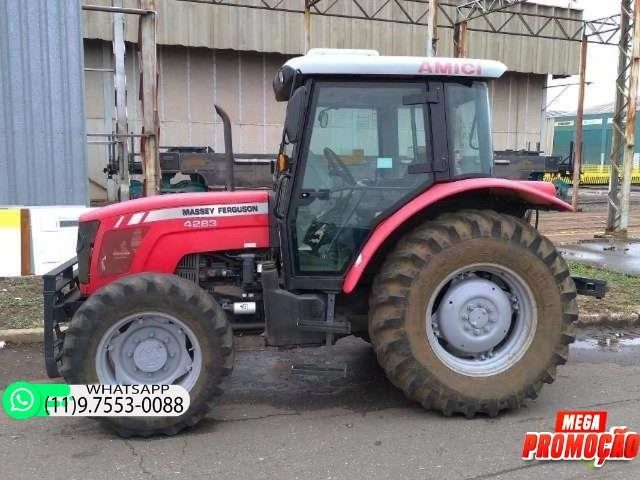 Trator Massey Ferguson 4283 4x4 ano 14 69900 - Foto 4