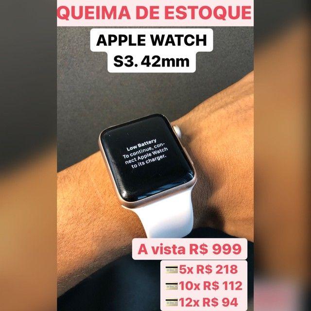 Apple Watch, S3, 42 mm PROMOÇÃO !!!!!