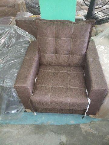 Sofa poltrona cama pufe  - Foto 6