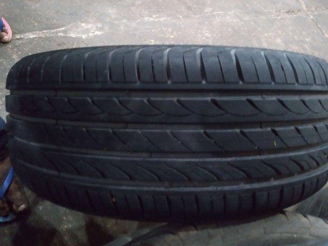 Vendo jogo de rodão.5×100 com pneus 215/50/R17 - Foto 4