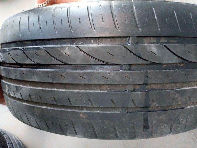 Troco roda aro 17 furaçao 5x100 - Foto 5