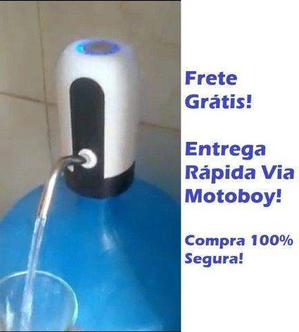 Pratica Bomba USB para Galão D'agua - Frete Já Incluso!
