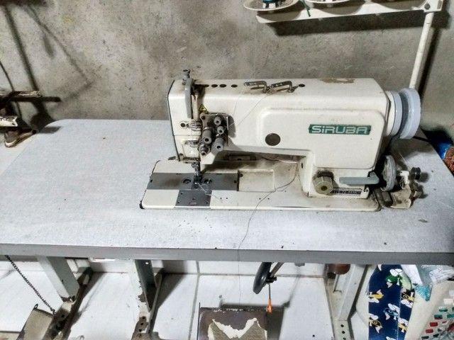 Máquina reta de duas agulhas - Foto 2