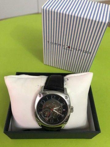 Relógio Automático Tommy Hilfiger Unisex Aço Inoxidável Casual  - Foto 3